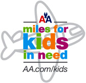 AA Miles For Kids in Need