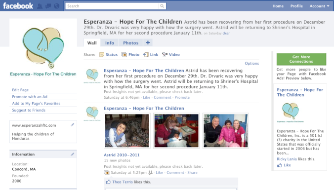 Esperanza on Facebook