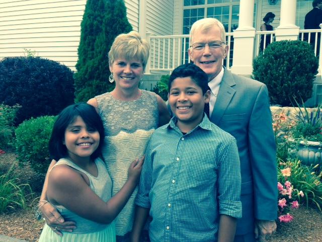 Emily, Tom, Noel, and Astrid